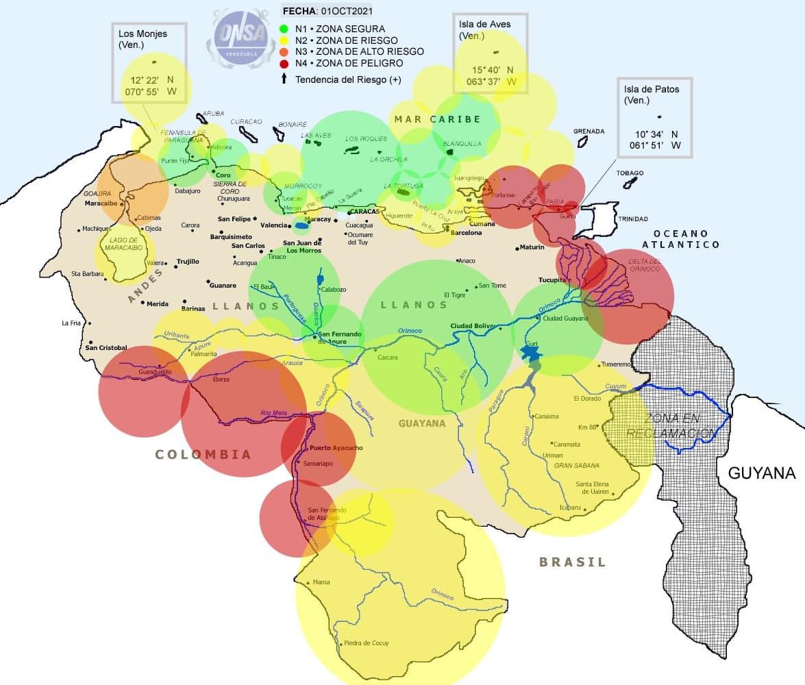 Costas orientales controladas por piratería - Costas orientales controladas por piratería
