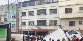 Colapsa calle Estadio de Altavista - Colapsa calle Estadio de Altavista
