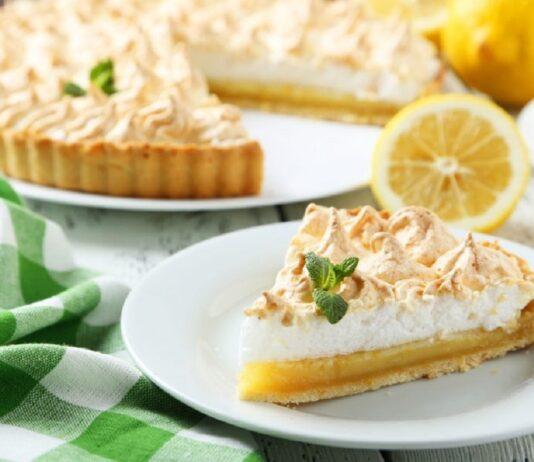 Pie de limón - Pie de limón