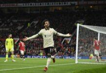 Liverpool derrotó al Manchester United
